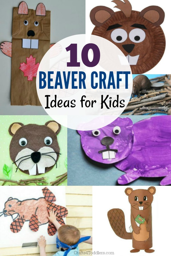 10 Adorable Beaver Craft Ideas For Toddlers Crafts 4 Toddlers
