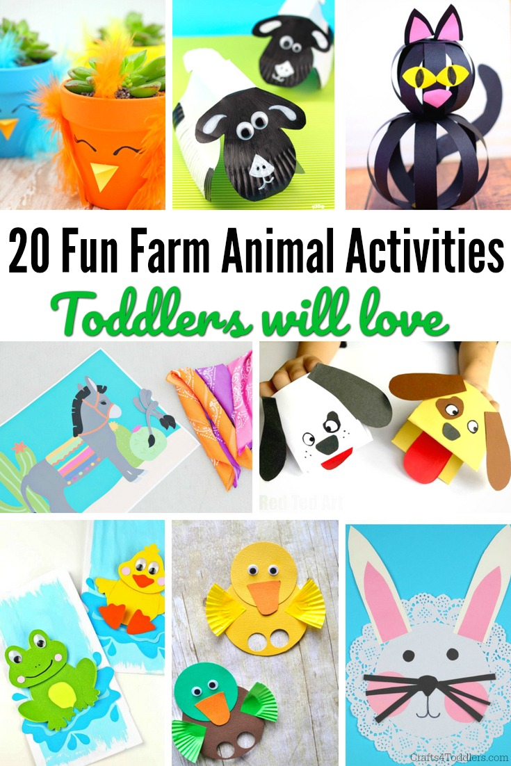Farm Animal Crafts Archives Crafts 4 Toddlers