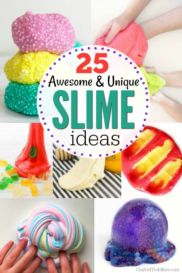Slime Ideas For Kids Archives Crafts 4 Toddlers