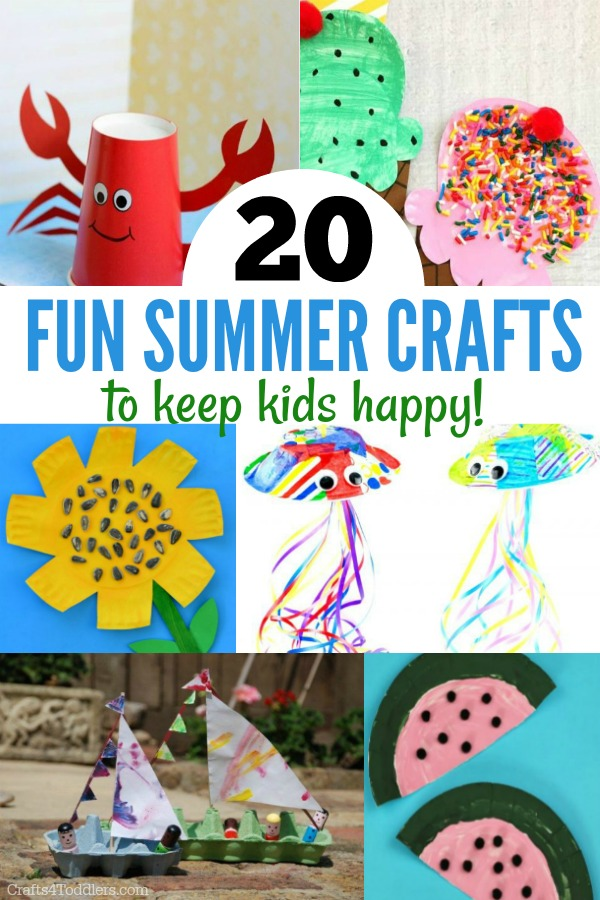 Easy Summer Crafts Archives Crafts 4 Toddlers