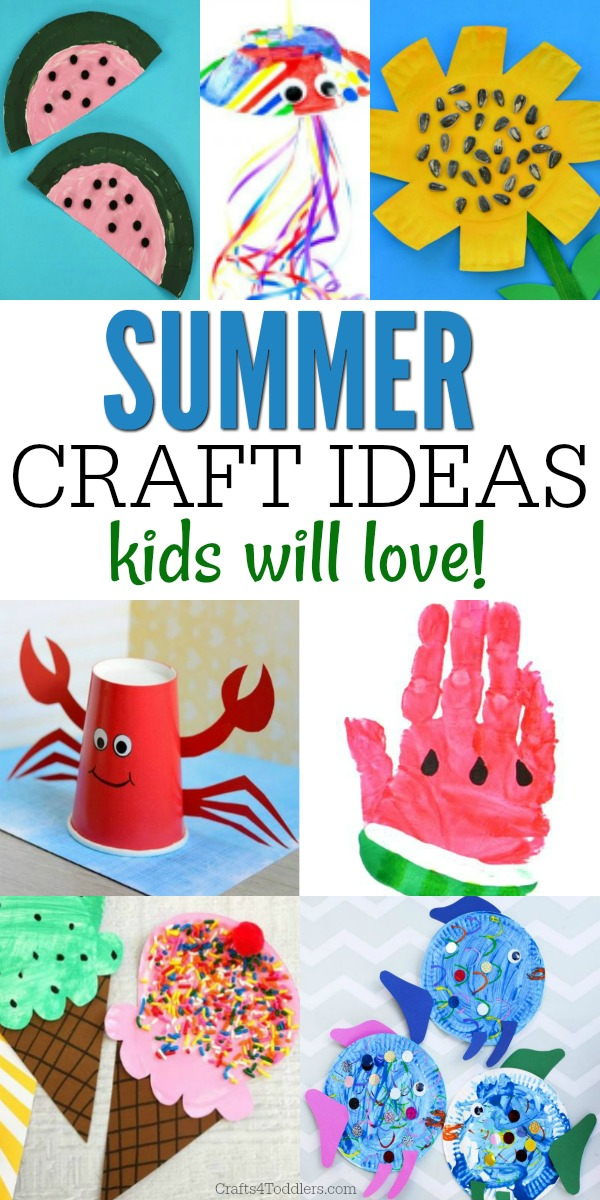 20 Summer Crafts For Toddlers Crafts 4 Toddlers