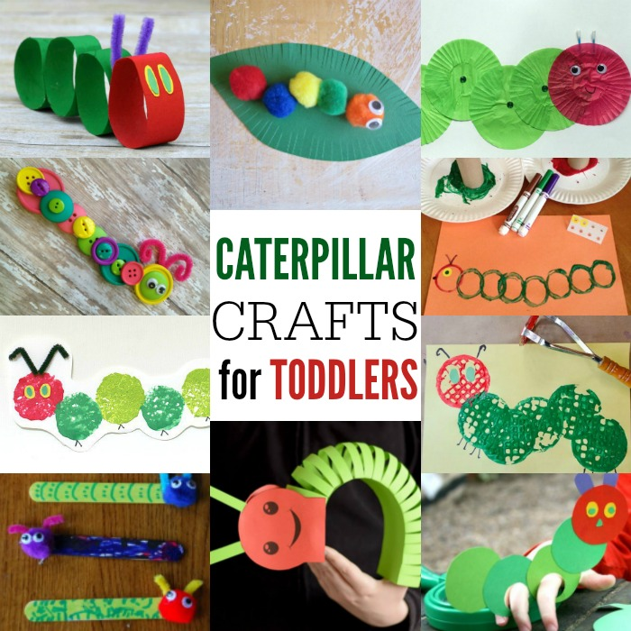 12 Easy Caterpillar Crafts For Toddlers Crafts 4 Toddlers