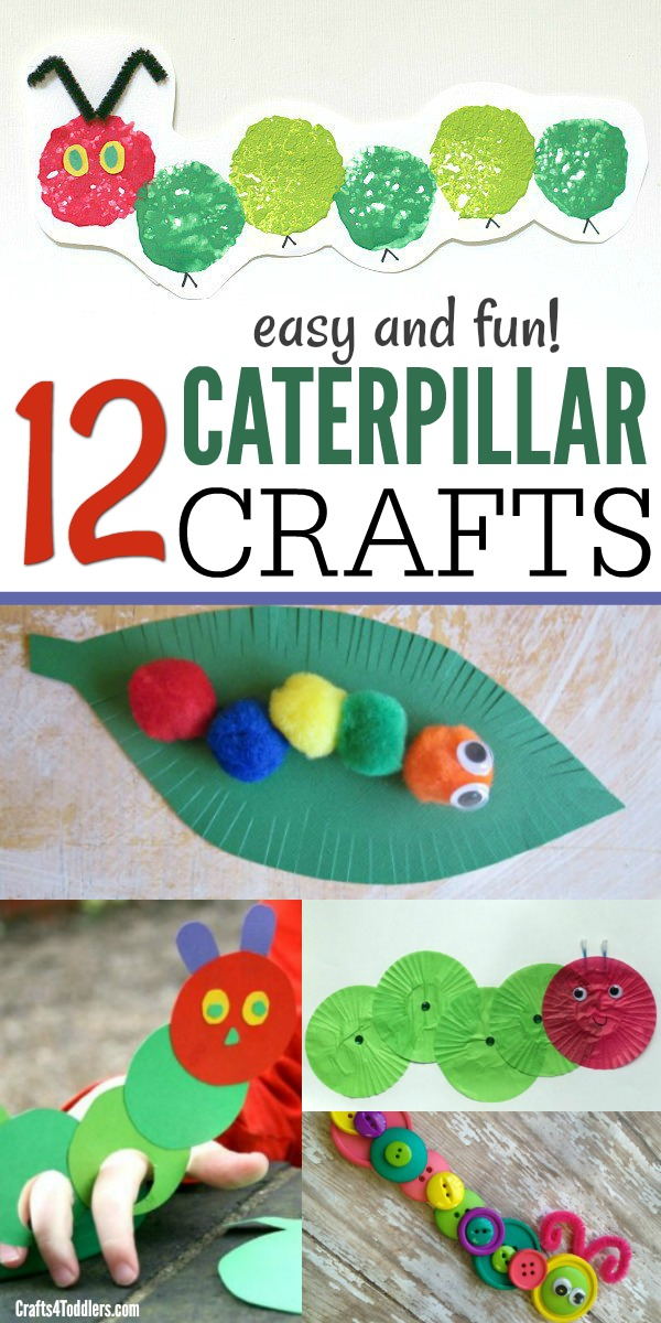 We Hope Your Kids Enjoy These Caterpillar Crafts For Toddlers