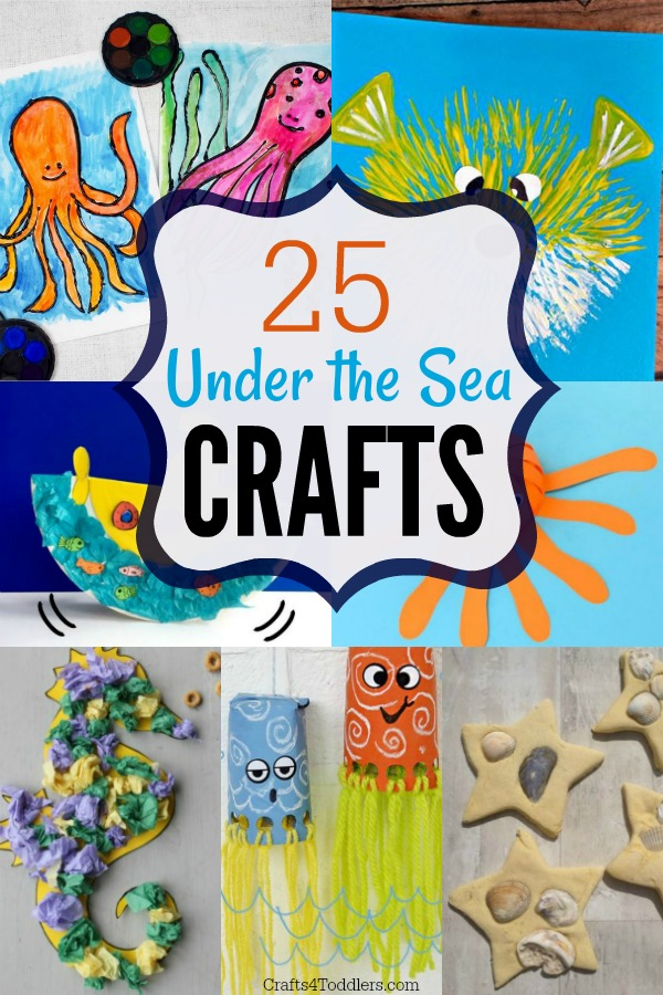 Ocean Craft Ideas Archives Crafts 4 Toddlers