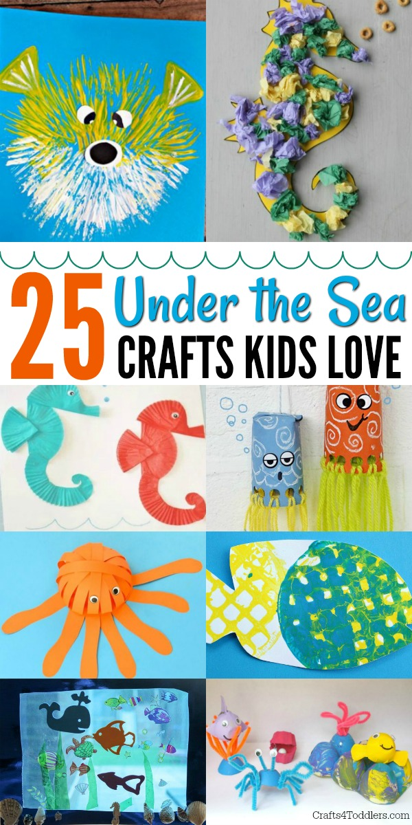 Under The Sea Crafts Archives Crafts 4 Toddlers