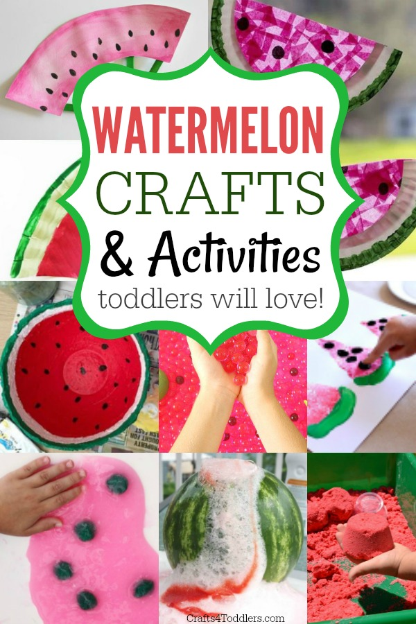Watermelon Crafts For Toddlers Archives Crafts 4 Toddlers