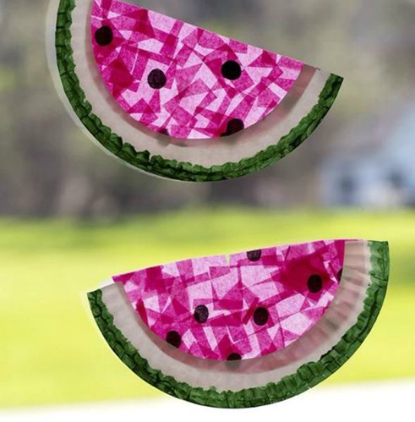 25 Diy Watermelon Crafts And Activities For Preschoolers Crafts 4