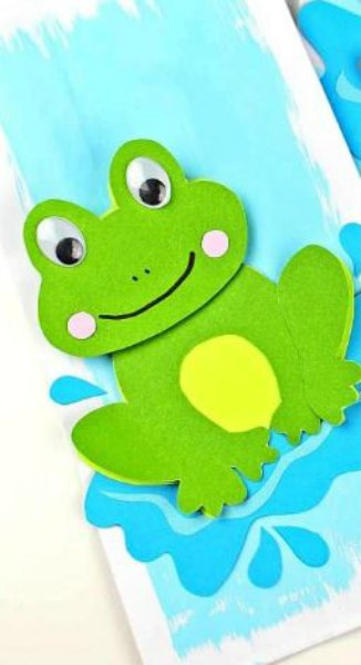 20 Adorable Frog Crafts For Toddlers Crafts 4 Toddlers